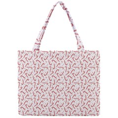 Candy Cane Mini Tote Bag by patternstudio