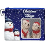 Christmas Things Canvas Cosmetic Bag (XXXL)
