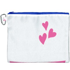 Jesus Loves Me [converted] Canvas Cosmetic Bag (xxxl) by clothcarts