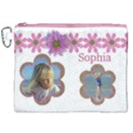 Sophia Canvas Cosmetic Bag (XXL)