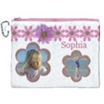 Sophia Canvas Cosmetic Bag (XXL)