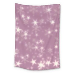 Blurry Stars Lilac Large Tapestry by MoreColorsinLife