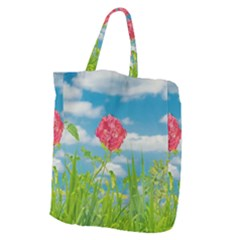 Beauty Nature Scene Photo Giant Grocery Zipper Tote by dflcprints