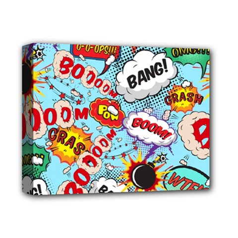 Comic Pattern Deluxe Canvas 14  X 11