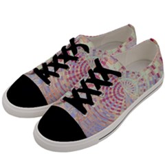 Gateway To Thelight Pattern  Men s Low Top Canvas Sneakers by Cveti