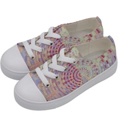 Gateway To Thelight Pattern  Kids  Low Top Canvas Sneakers by Cveti