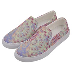 Gateway To Thelight Pattern  Men s Canvas Slip Ons by Cveti