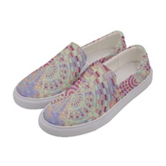 Gateway To Thelight Pattern  Women s Canvas Slip Ons by Cveti