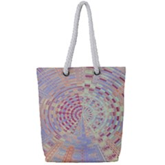 Gateway To Thelight Pattern  Full Print Rope Handle Bag (small)