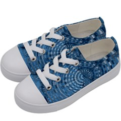 Gateway To Thelight Pattern 5 Kids  Low Top Canvas Sneakers by Cveti