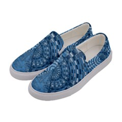 Gateway To Thelight Pattern 5 Women s Canvas Slip Ons by Cveti