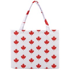 Maple Leaf Canada Emblem Country Mini Tote Bag by Celenk