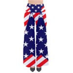 Patriotic Usa Stars Stripes Red Pants