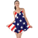 Patriotic Usa Stars Stripes Red Love the Sun Cover Up