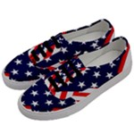 Patriotic Usa Stars Stripes Red Men s Classic Low Top Sneakers