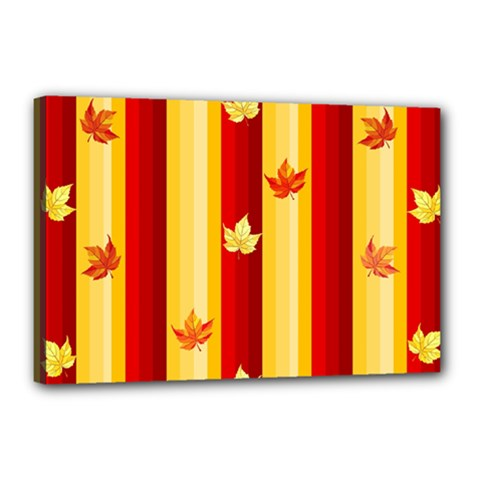 Autumn Fall Leaves Vertical Canvas 18  X 12  by Celenk