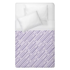 Halloween Lilac Paper Pattern Duvet Cover (single Size) by Celenk