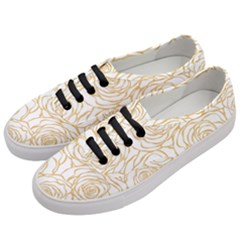 Yellow Peonies Women s Classic Low Top Sneakers by 8fugoso