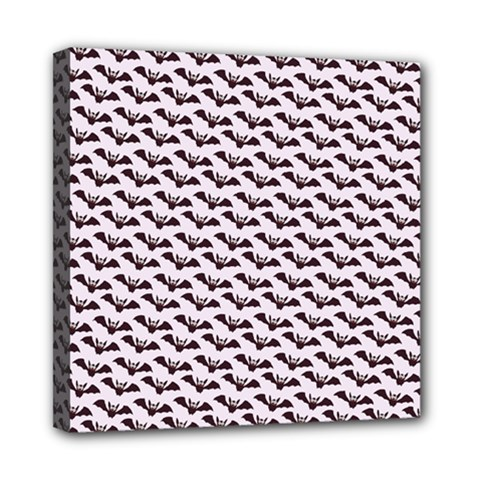 Halloween Lilac Paper Pattern Mini Canvas 8  X 8  by Celenk