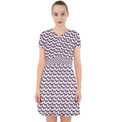 Halloween Lilac Paper Pattern Adorable In Chiffon Dress