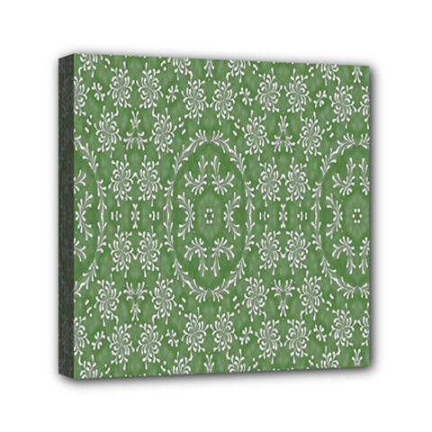 Art Pattern Design Holiday Color Mini Canvas 6  X 6  by Celenk