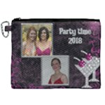 Party Time Canvas Cosmetic Bag (XXL)