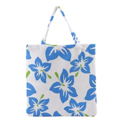 Hibiscus Wallpaper Flowers Floral Grocery Tote Bag by Celenk
