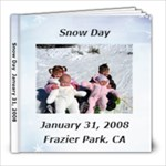 Kelly Snow Day 08 - 8x8 Photo Book (20 pages)
