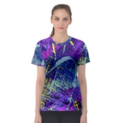 Ink Splash 01 Women s Sport Mesh Tee by jumpercat