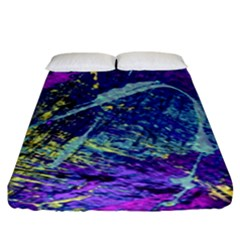 Ink Splash 01 Fitted Sheet (king Size) by jumpercat