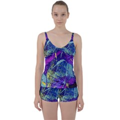 Ink Splash 01 Tie Front Two Piece Tankini by jumpercat