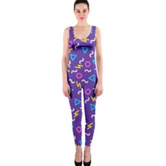 Retro Wave 1 Onepiece Catsuit by jumpercat