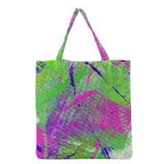 Ink Splash 03 Grocery Tote Bag by jumpercat