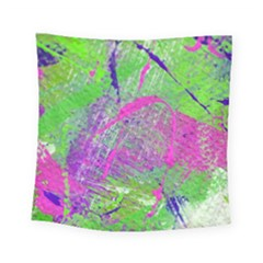 Ink Splash 03 Square Tapestry (small) by jumpercat