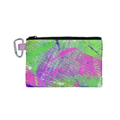 Ink Splash 03 Canvas Cosmetic Bag (small)