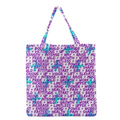 Hard Workout Grocery Tote Bag by jumpercat