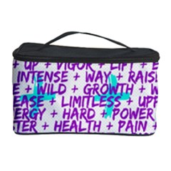 Hard Workout Cosmetic Storage Case by jumpercat
