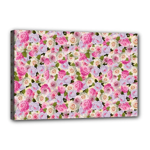 Gardenia Sweet Canvas 18  X 12  by jumpercat
