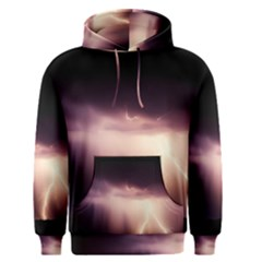Storm Weather Lightning Bolt Men s Pullover Hoodie