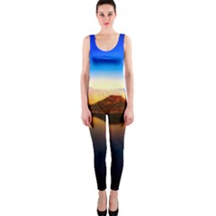 Crater Lake Oregon Mountains Onepiece Catsuit by BangZart