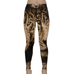 Jaguar Water Stalking Eyes Classic Yoga Leggings