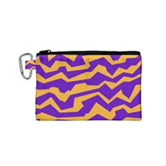 Polynoise Pumpkin Canvas Cosmetic Bag (small) by jumpercat