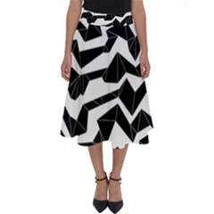 Polynoise Origami Perfect Length Midi Skirt