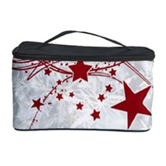 Christmas Star Snowflake Cosmetic Storage Case by BangZart