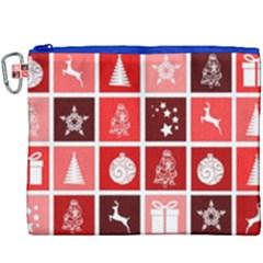Christmas Map Innovative Modern Canvas Cosmetic Bag (xxxl) by BangZart