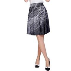 Flash Black Thunderstorm A Line Skirt by BangZart