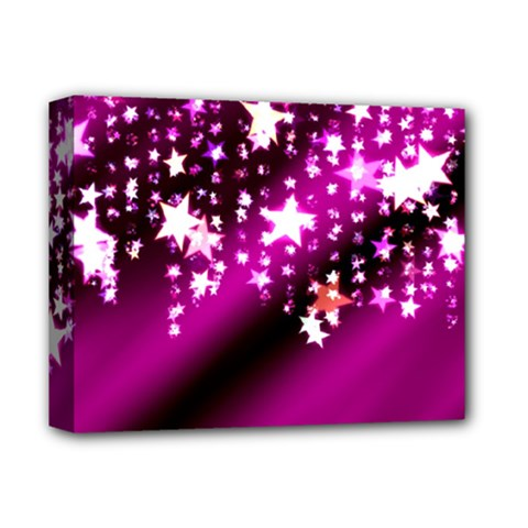 Background Christmas Star Advent Deluxe Canvas 14  X 11