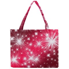 Christmas Star Advent Background Mini Tote Bag by BangZart