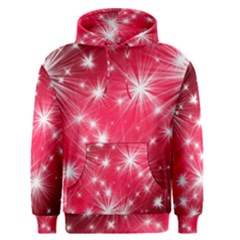 Christmas Star Advent Background Men s Pullover Hoodie