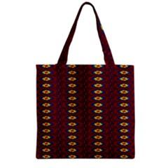 Geometric Pattern Grocery Tote Bag by linceazul
